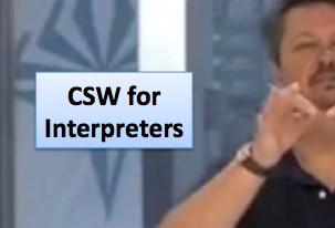 CSW for Interpreters