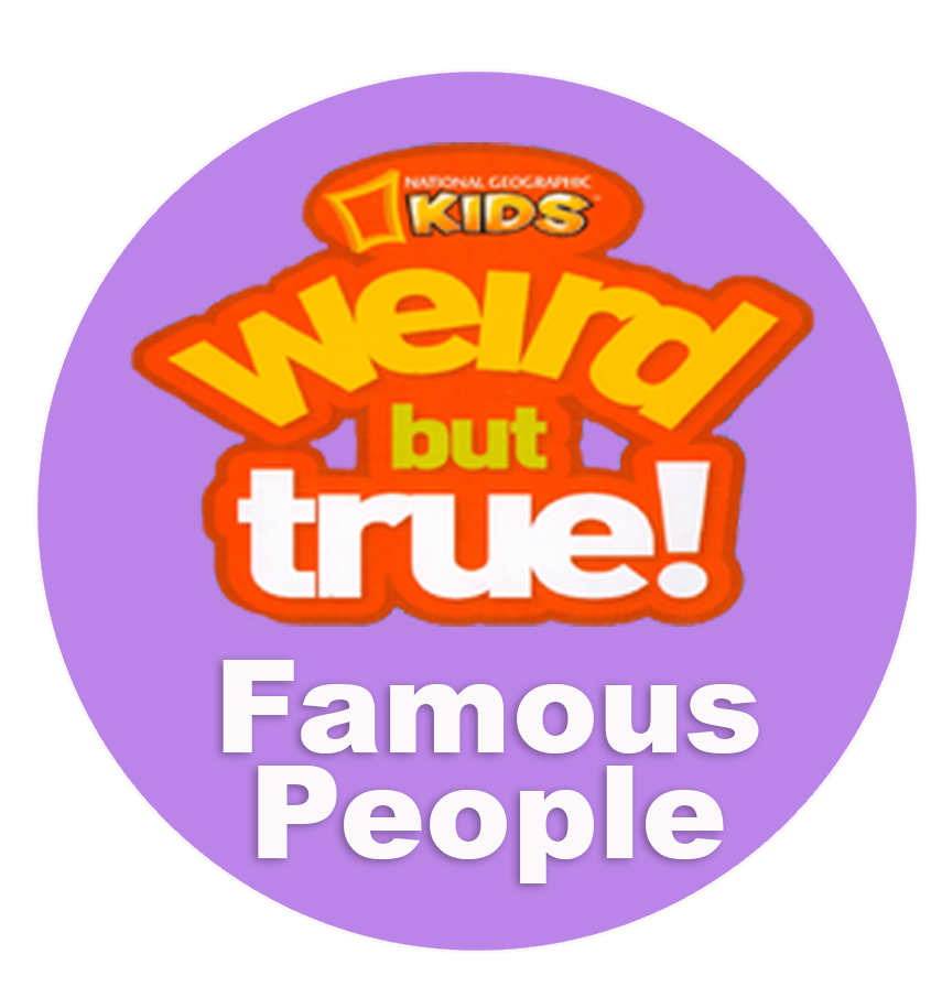 Weird But True - Famous People