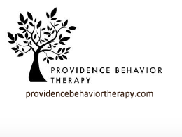 Logo - image of tree with text: Providence Behavior Therapy