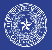 The State of Texas Governor logo