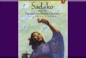 Book cover of the book, Sadako - a Japanese girl with a paper crane