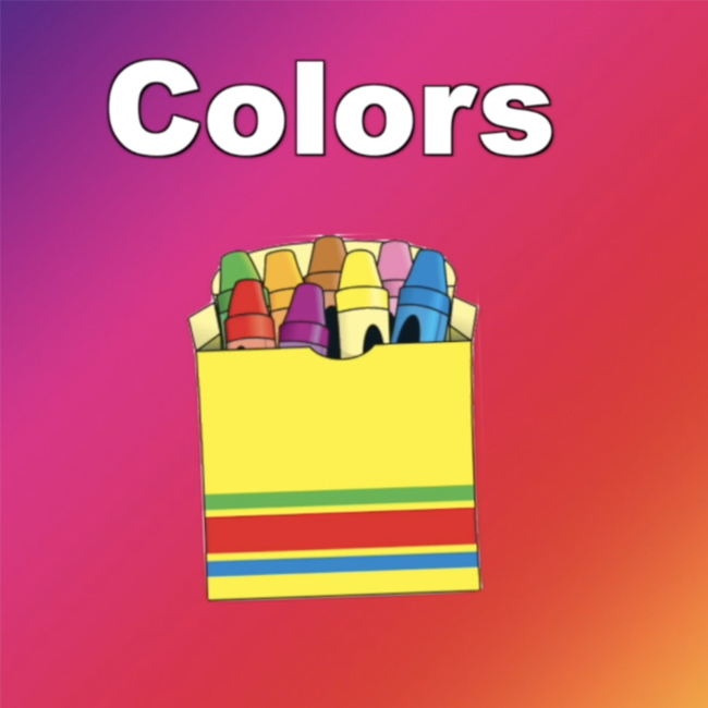 Colors - crayons